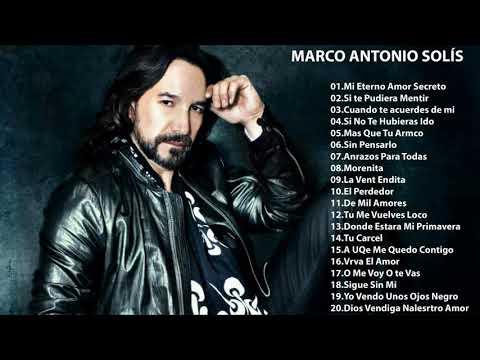 Marco Antonio Solis sus mejores exitos - 30 Exitos Mix