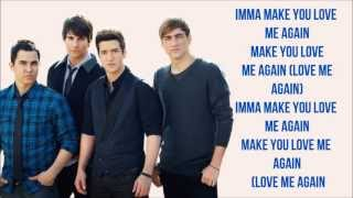 Love Me Again - Big Time Rush (w/ Lyrics on Screen)