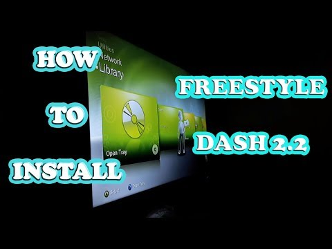 HOW TO INSTALL FREESTYLE DASH 2.2 ON EXTERNAL HDD FOR JTAGS