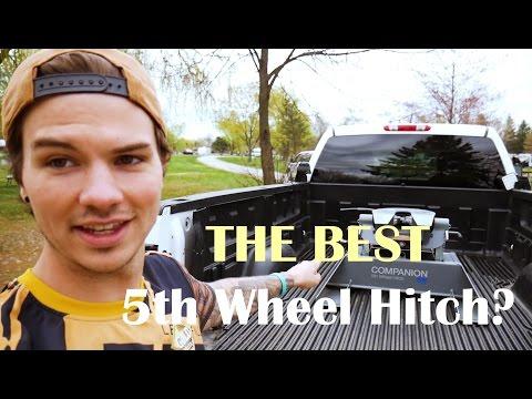 The Best 5th Wheel Hitch? | B&W Companion RVK3500 Review | How to Hook Companion Hitch to 5th Wheel