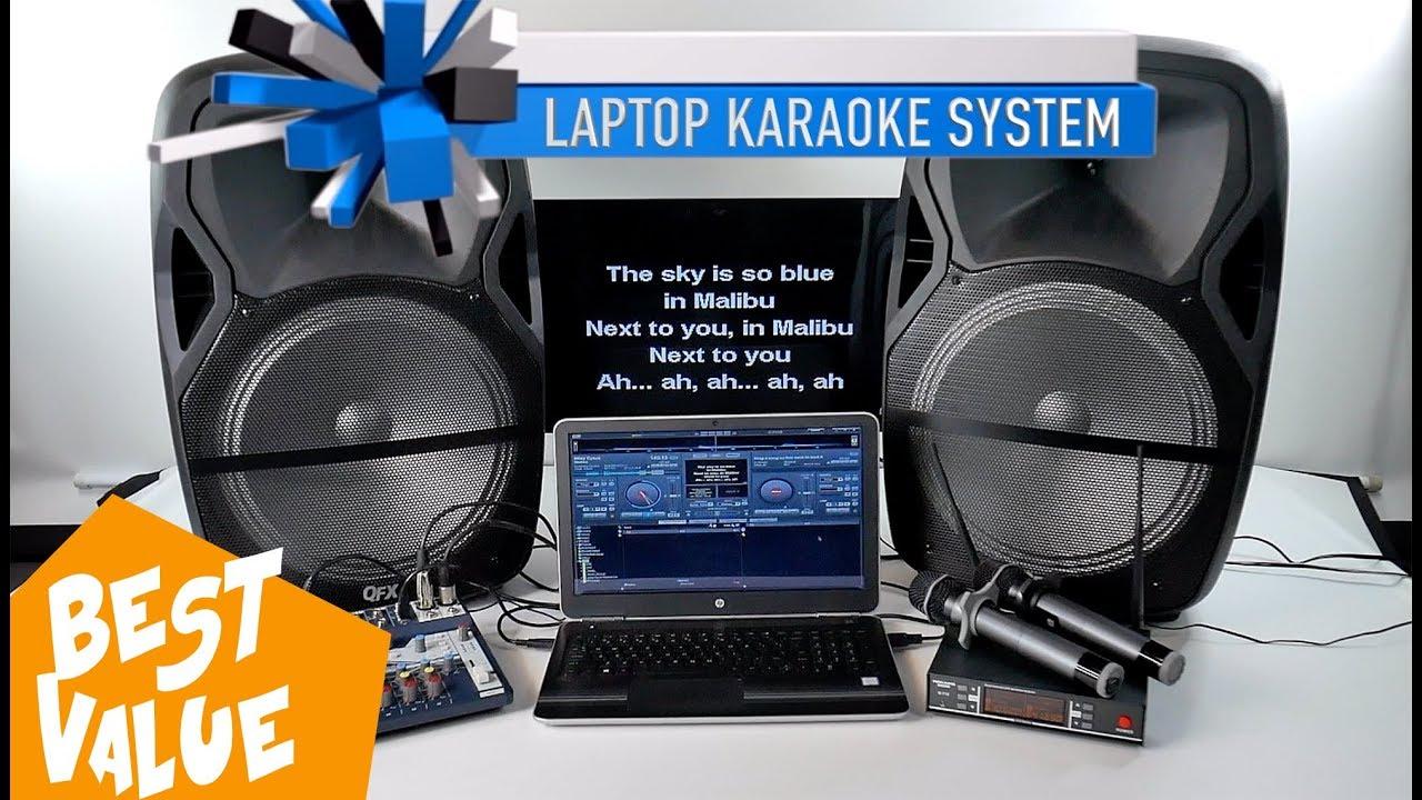 Laptop Karaoke System Karaoke Mixer Best Karaoke