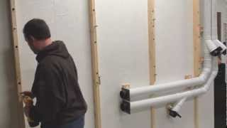 Lumber Storage Rack From 2x4 And Pipe In Garage Wood Shop - Part 2