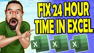 how to calculate time in excel 2013