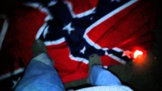 #NOFLAGGINCHALLEGE BURNING CONFEDERATE FLAG.