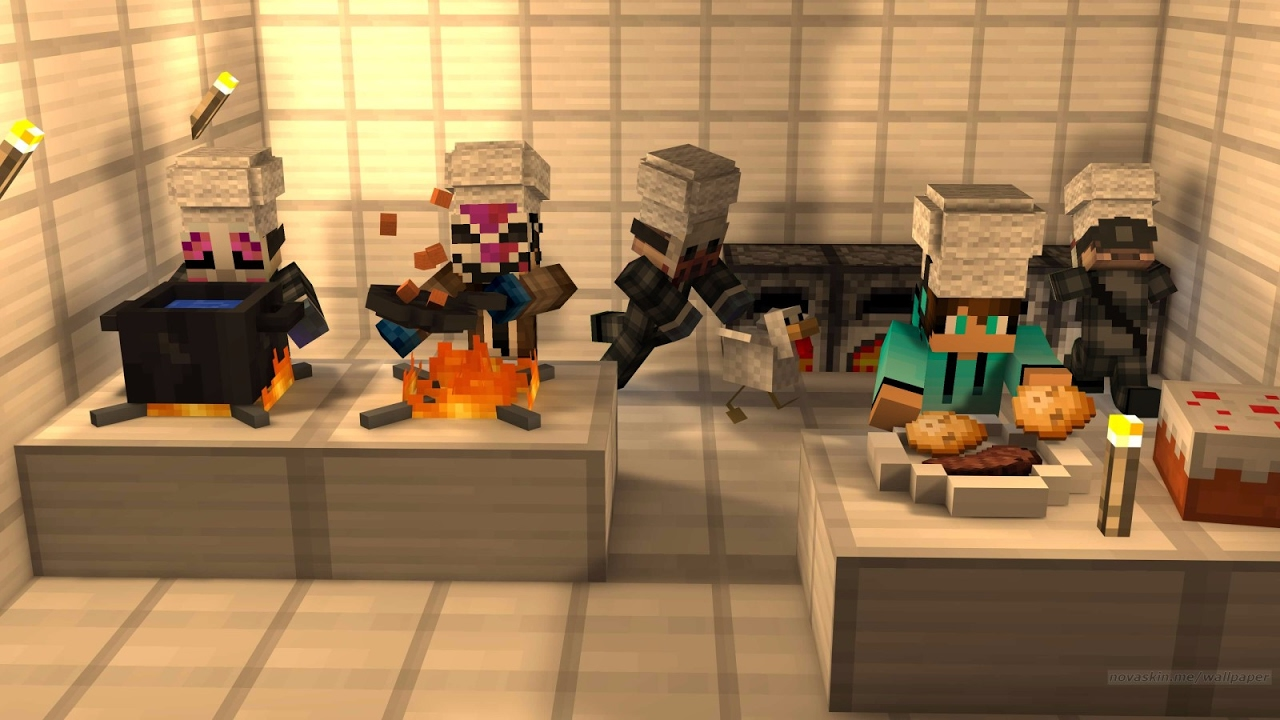 Minecraft Modern Kitchen Minecraft Modern Kitchen Furniture With Just Two Command Blocks