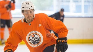 Evan Bouchard at Edmonton Oilers development camp: Day 1