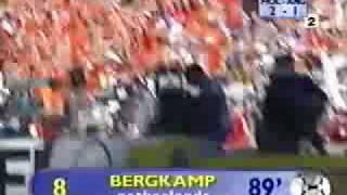 dennis bergkamp best goal ever