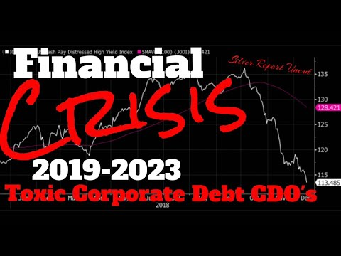 Financial Crisis 2019-2023  Central Banks Warning About Toxic Corporate Debt CDO's