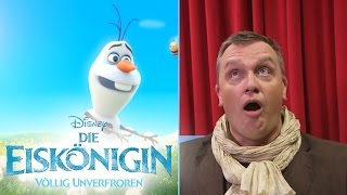DIE EISKÖNIGIN - VÖLLIG UNVERFROREN - Olaf träumt vom Sommer - Hape Kerkeling - Disney HD