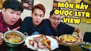 Ăn thử chân gà Hàn Quốc siêu cay cùng Sơn Đù và Mazk (Oops Banana)