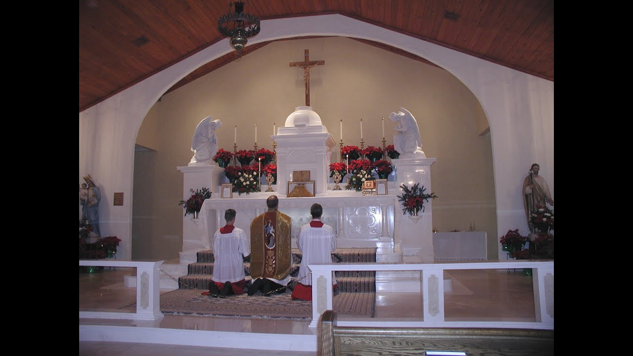 SUNDAY, December 28th, 2014 Sunday in the Octave of Christmas - YouTube