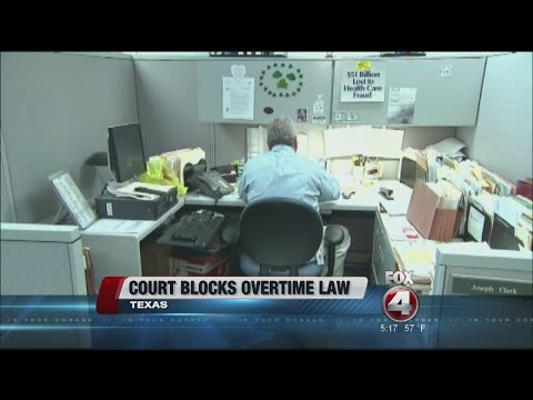 Federal court blocks overtime law