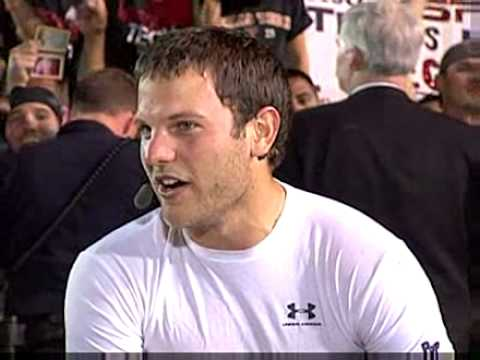 Graham Harrell Game Day Interview