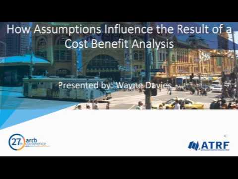 How the results of a cost benefit analysis (CBA) are influenced by assumptions