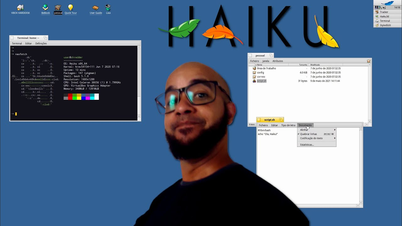 Conheça o Haiku, um Sistema Operacional escrito em C++