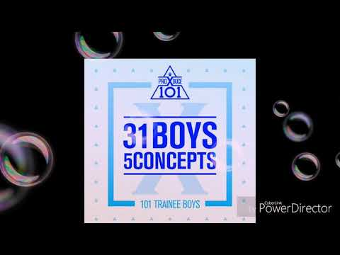 Produce X 101 (31 Boys 5 Concepts) - 움직여 (MOVE) (Prod. by ZICO) – SIXC (6 crazy)