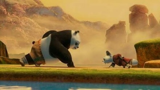 Kung Fu Panda Training Scene - HD
