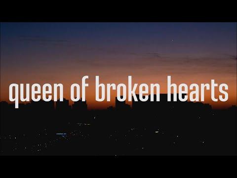 blackbear - queen of broken hearts (Lyrics)