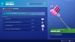 Fortnite's 2nd Birthday and It's *FREE* Rewards