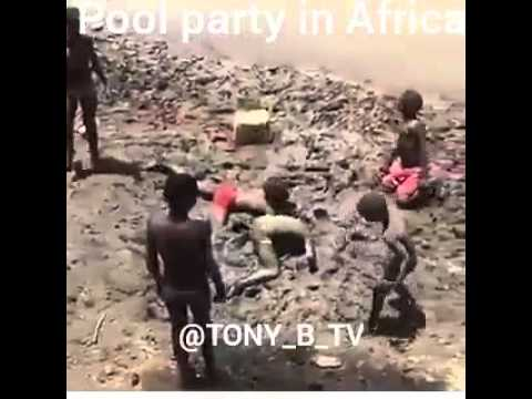 Pool Party in Africa (Original Vine by TONY_B_TV)