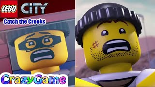 LEGO City Elite Police Station Catch the Crooks Full Mini Movie Complition