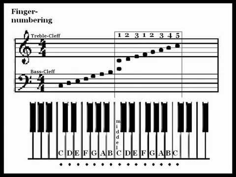 piano keys letters how to read sheet the basics 13111 | hqdefault