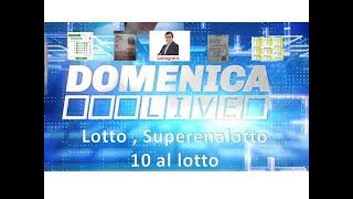 Domenica live : lotto , superenalotto e ...