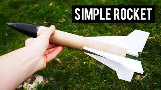 Simple Model Rocket