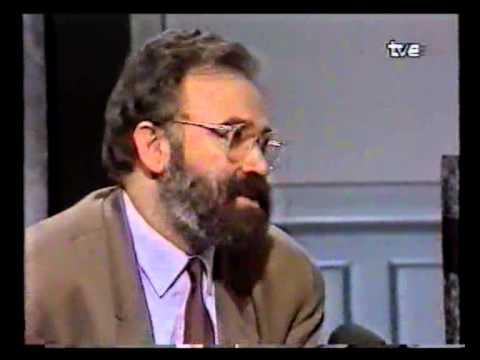 Josep Lluís CarodRovira parlant sobre Dalí, Tribunal Popular TVECatalunya 1989