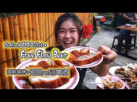 Seafood BBQ + Free Flow Beer @ THAI BAHT 499/RM60+