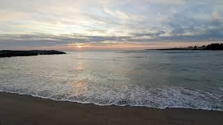 [자연의소리] 조용한 동해바다의 파도 힐링하기   마음…