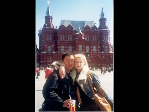 Winston and Katya at Moscow Museum and Amusement Park