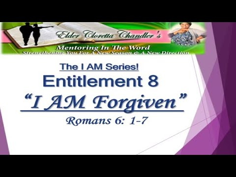 The I AM Series, Entitlement 8 -