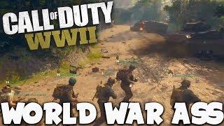 """Call of Duty WWII (BETA) -  """"World War Ass!"""" (How to kill a joke)"""