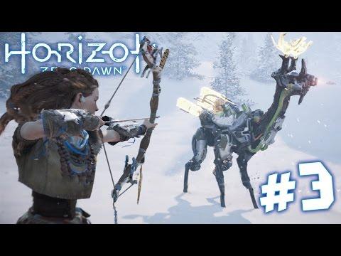HORIZON ZERO DAWN Walkthrough – THE AMBUSH! | Part 3 (PS4) HD
