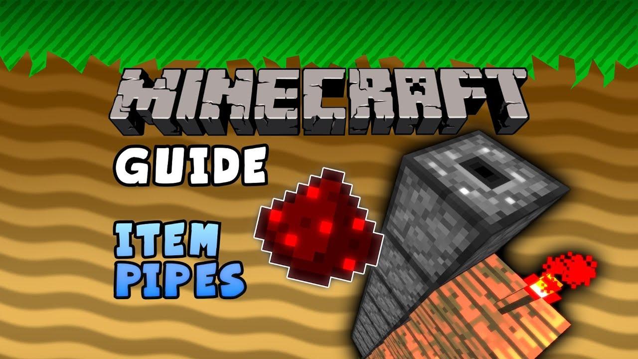 Minecraft Guide - Vanilla Item Pipes