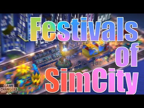 SimCity Buildit | Festivals Of SimCity **First Look**
