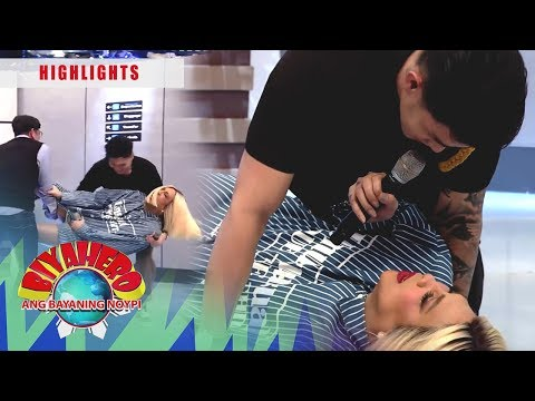 Ion Comes To Rescue Vice From Vhong And Jhong | It's Showtime BiyaHERO