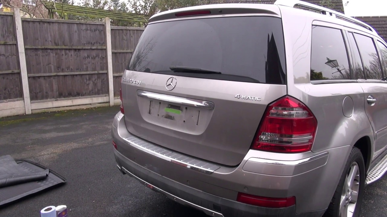 small resolution of mercedes gl 2007 x164 auto boot tailgate pump location fluid