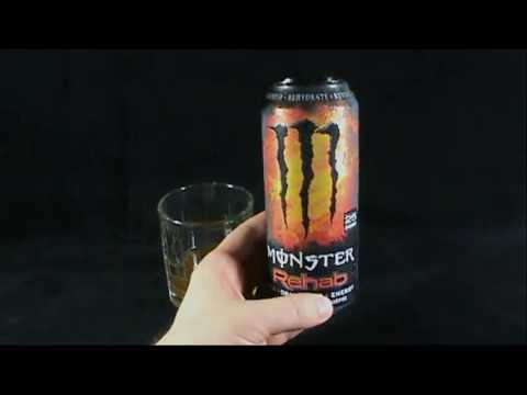 Random Spot - Monster Energy Rehab Tea + Orangeade Energy Drink