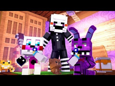Minecraft FNAF: Funtime Freddy and Bonnie Baby Problem (Minecraft FNAF Roleplay)
