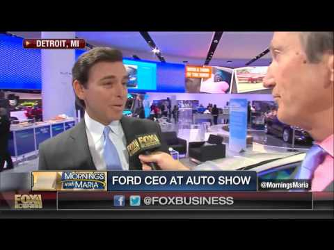 Ford CEO: We Project Moderate Growth This Year In China