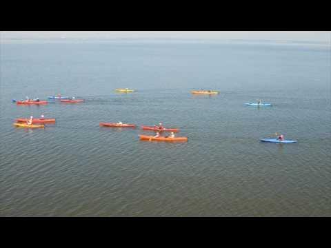 Kayak Trip-St Simons Island to Jekyll Island Georgia