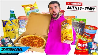 I Tried SUBSCRIBERS Weirdest Food Combinations...