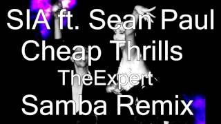 Sia ft Sean Paul - Cheap Thrills (Samba Remix 51bpm) mp3