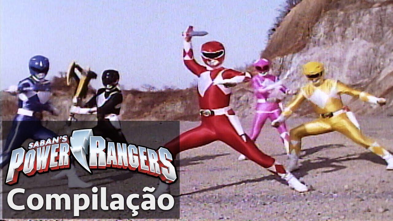 Power Rangers Em Portugues Lutas Dos Power Rangers Mighty