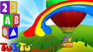 TuTiTu Englisch Lernen | Farben lernen auf Englisch für Kinder | Heißluftballon