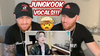 TWINS React to Jungkook Vocals! BTS 'GOLDEN MAKNAE' on Vlive! 😲