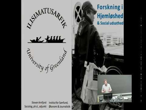 Forskning i hjemløshed & social udsathed i Nuuk