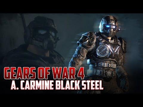 Gears of War 4   A. Carmine Black Steel   Final Inesperado!!